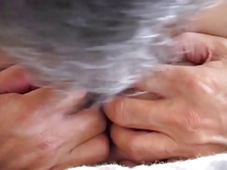 hotty disrobes for old fellow and fucked...usb