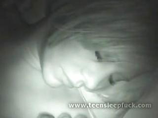 cute teenie sleeping sex