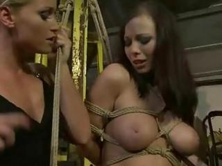 female-dominator punishing marvelous breasty