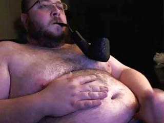 pipe smoking bear chub