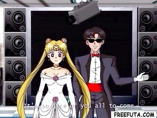 sailor moon and tuxedo mask find a filthy