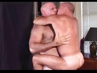 muscle large daddies having joy