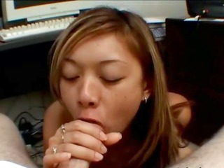 brutal oral-sex in the office with tokyo
