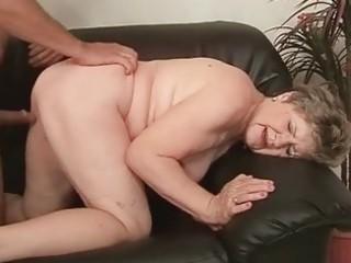 obese grandma enjoying wicked sex