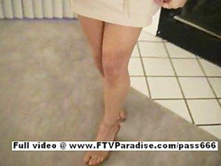 lina from ftv women dark brown cute chick