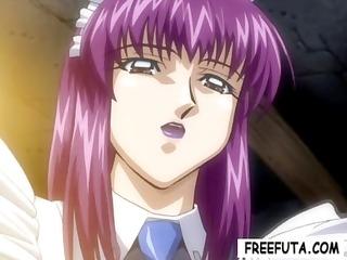 palatable big-breasted manga housemaids receive