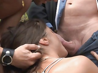 cecilia vega double penetration in the forest