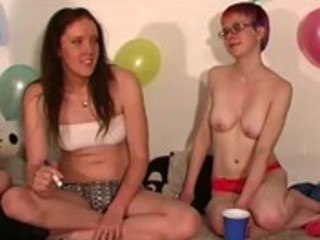 hot legal age teenager lesbian babes getting sexy