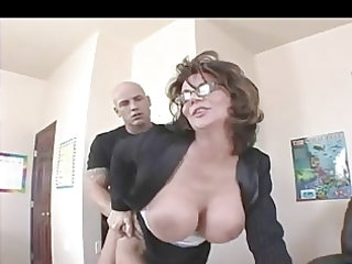 breasty mother i teacher in nylons bonks