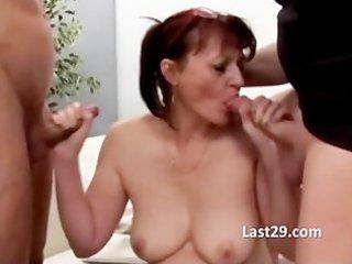 cougar gang group sex fuck
