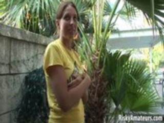 wicked cutie next door receives soaked in public