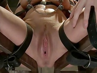 BDSM Bondage Fucking and Ball Gags