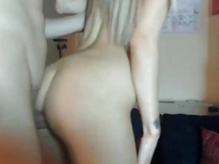 slender gf drilled hard from behind hd