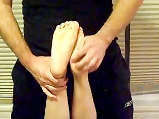 glamorous soft soles tickled