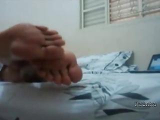 foot rainha ada toes - oiled feet soles