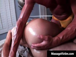sexy and excited stud acquires the massage part6