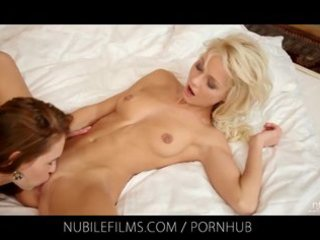 nubile films - grace hartley grinds her muff on