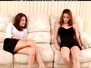 non-professional lesbian babes become pornstars -