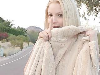 nikkie sinless fragile blond undressing flashing
