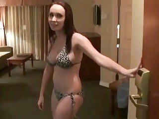 nasty brunette hair gf sextape naked