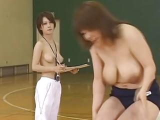 japanese doll is a sporty angel who enjoys exposed