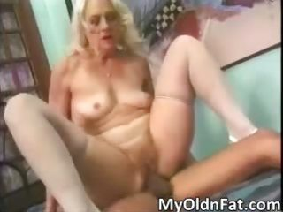 breasty golden-haired mother i wench receives