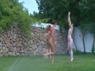 polish honeys watersports in the garden