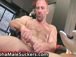 concupiscent hardcore homo fucking and engulfing