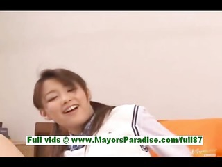 akane sakura youthful japanese schoolgirl in