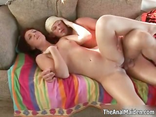 redhead beauty can getting her miniature arsehole