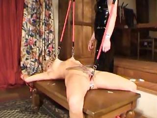 tied abd large analdildo