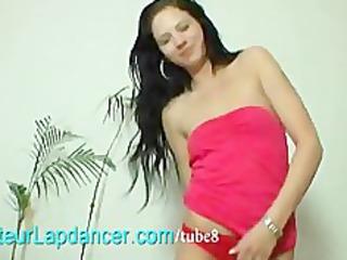 czech student does undress and lapdances for
