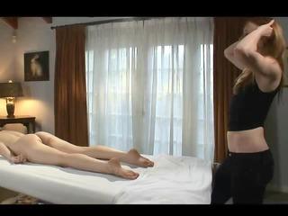 a little bit rough massage