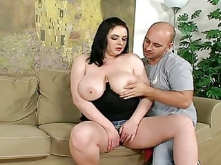 big beautiful woman chicks with large wobblers in