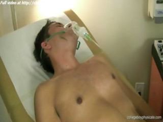 valentino russo receives his sausage stroked