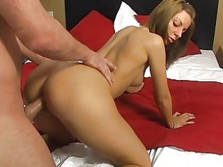 tanned bootylicious brunette hair legal age