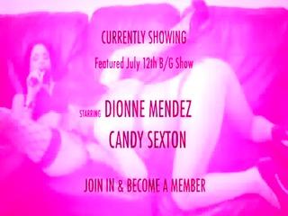 shebang.tv - dionne mendez &_ candy sexton