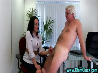 office cfnm sluts receive nasty