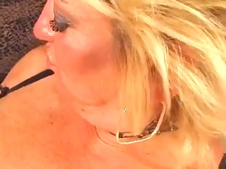 granny allows her new darksome guy to fuck her in