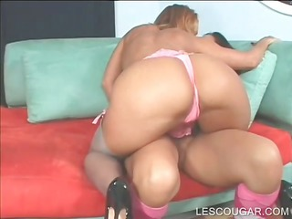 lesbian mamma in large milk sacks vagina licked