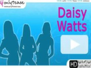 daisy watts merely tease - cute daisy watts goes