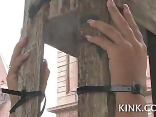 breasty charming sexy cutie acquires punished