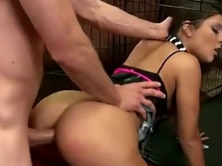 Juicy Ass Teen gets Rough Forced Anal