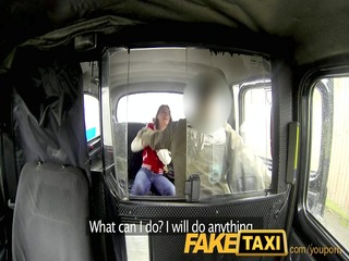 faketaxi unruly legal age teenager receives