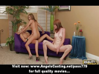 superb beautifull lesbo harlots cunt licked on