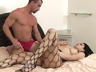 breasty shelady goes hardcore