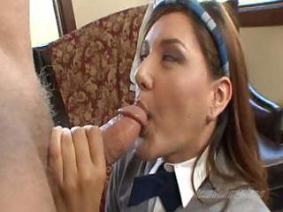 youthful student amber screwed actually hard