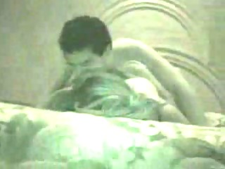lustful pair on a homemade hardcore sex clip