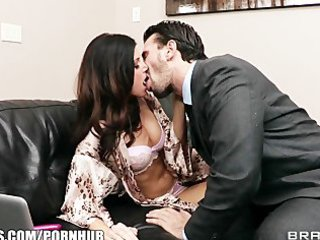 lonley brunette hair wife entreats her spouse to
