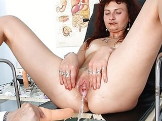 redhead mother i pussy checkup at perverted